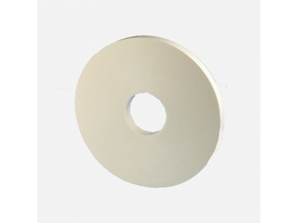 Podložná PE páska pro zasklívání, 12 mm x 4 mm x 20 m, bílá