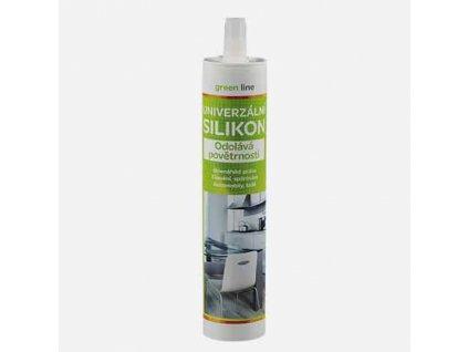 Univerzální silikon Green line, kartuše 300 ml, transparentní