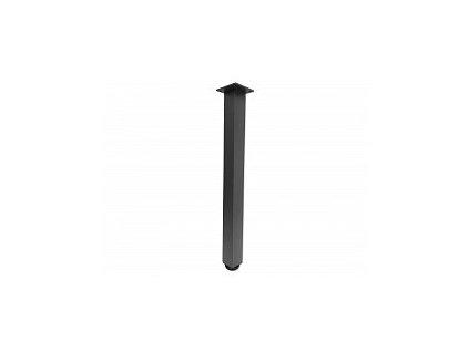 Noha stolová hranatá s regulací 60x60x710 ANTRACIT