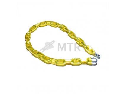 Řetěz zamykací  v PVC