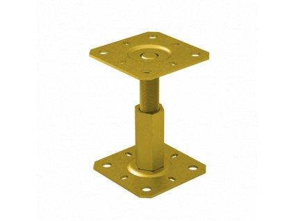 PR 100/100 Stavitelná patka sloupku 100x100, 100-150mm M20