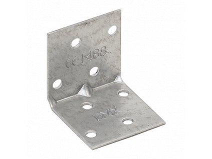 KMP 1 - úhelník montážní s prolisem 40x40x40x1,5 mm