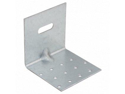 KMRP 3 - úhelník montážní stavitelný s prolisem 100x100x100x2,0 mm