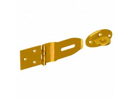 ZZP 50  Závěs zamykací jednoduchý 140x45x1,5 mm