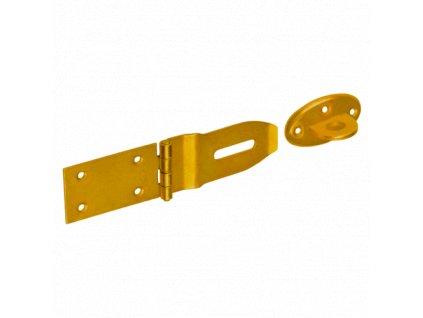 ZZP 80  Závěs zamykací jednoduchý 170x45x1,5 mm