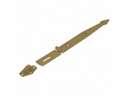ZZB 250  Závěs zamykací brankový pásový 250x2,5 mm