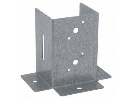 PSP 45 DX (46*102*106*2) Patka sloupku 45 se čtvercovou základnou