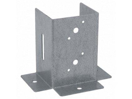PSP 70 DX (71*152*151*2) Patka sloupku 70 se čtvercovou základnou