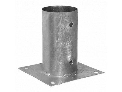 PSPO  80 (81*150*2) Patka sloupku 80 kruhová
