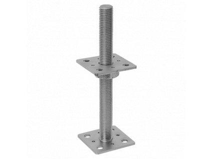 PSR 80 (80*250) Patka sloupku stavitelná šroubem d24