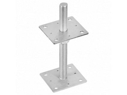 PSR 110 (10*250) Patka sloupku stavitelná šroubem d24