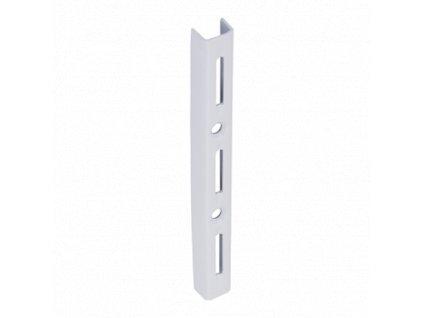 WLS 150b nosná konzolová lišta jednoduchá 150 mm bílá