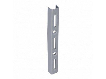 WLS 150s nosná konzolová lišta jednoduchá 150 mm šedá