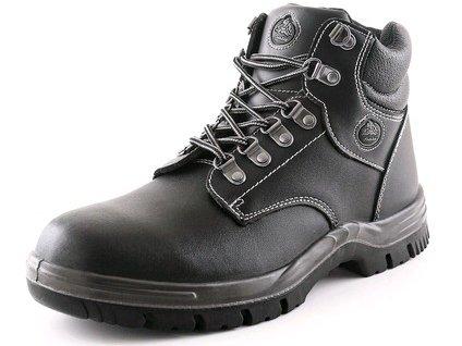 Kotníková obuv s ocelovou špicí BAŤA STOCKHOLM S2