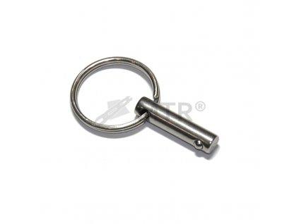 Kolík pojistný s kroužkem typ A nerezový
