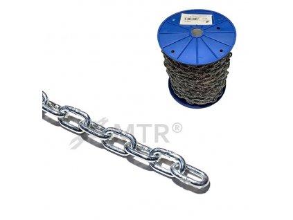 Řetěz krátký článek DIN 766, cívka