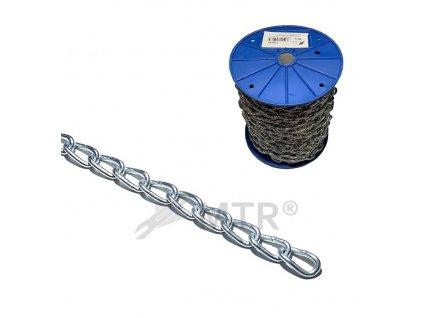 Řetěz kroucený DIN 5685A, cívka
