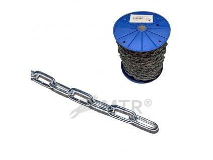 Řetěz dlouhý článek DIN 763/5685C, cívka