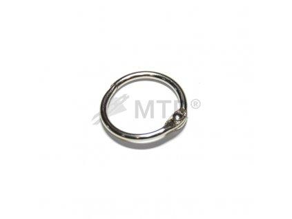 Kroužek otevírací kovový