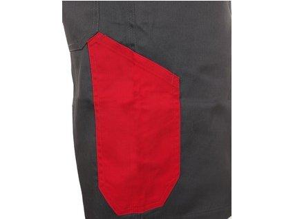 Kraťasy CXS PHOENIX ZEFYROS, pánské, šedo-červené