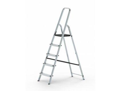 Stupňový stojací žebřík (schůdky), Pracovní výška: 2,60 m