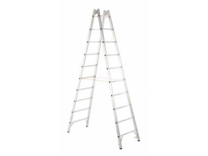 Coni B příčlový stojací žebřík, Pracovní výška: 2,50 m