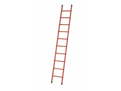 EFA L celoplastový opěrný žebřík, Pracovní výška: 3,85 m