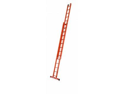 Skyline EFA 2E celoplastový žebřík s lanem, Pracovní výška: 7,95 m