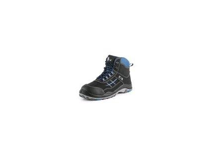 Obuv kotníková CXS DOG BOXER O1, modro černá