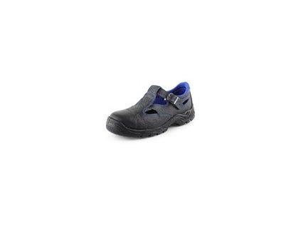 Obuv sandál CXS DOG TERRIER S1, černo modrý