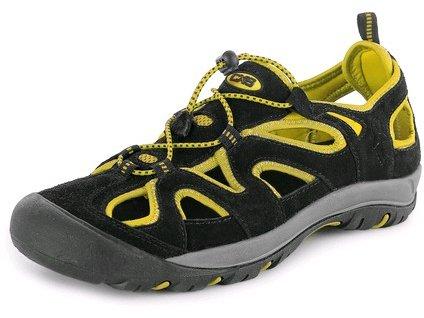Obuv sandál CXS GOBI, černo - žlutá