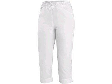Dámské kalhoty CXS AMY, 3/4 délka bílé