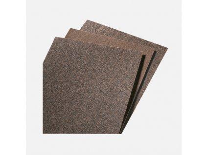 Brusný arch ruční, papír 225 mm ×275 mm