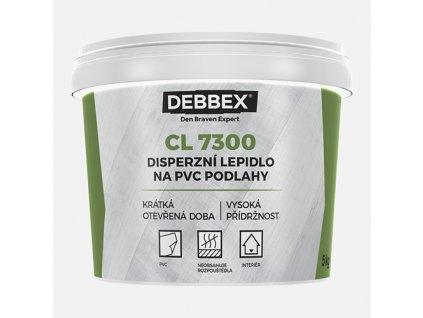 Disperzní lepidlo na PVC podlahy CL 7300, kbelík 1 kg