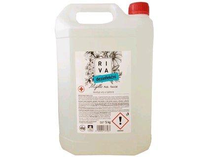 Dezinfekční mýdlo na ruce RIVA, 5 kg