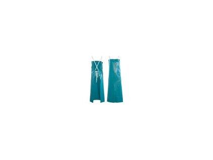 Zástěra Ansell PVC 45GR, kyselin., zelená
