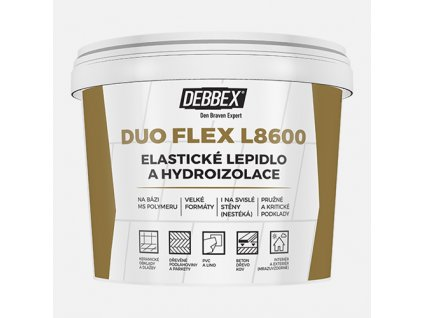 Elastické lepidlo a hydroizolace DUO FLEX L8600, kbelík 15 kg
