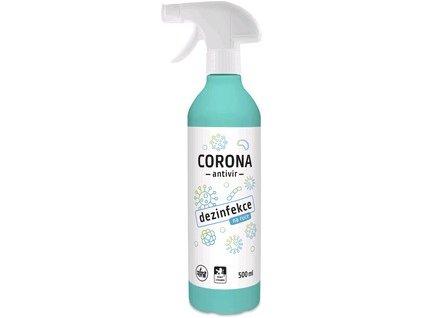 Dezinfekce na ruce CORONA, 500 ml