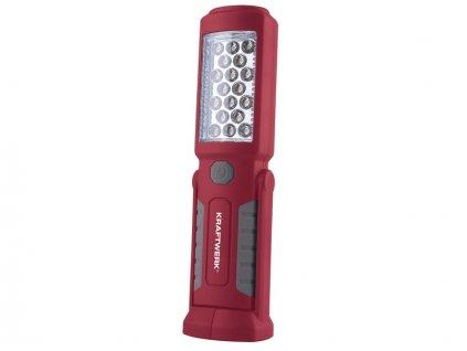AKCE: LED svítilna 3,7V/800mAh 18+3 LED (bez baterie AAA)