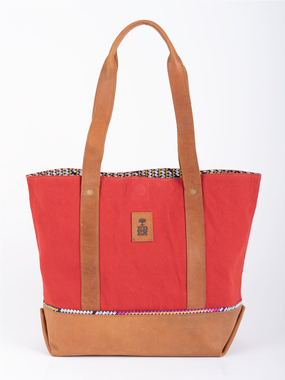 damska kozena kabelka nanda cervena 01