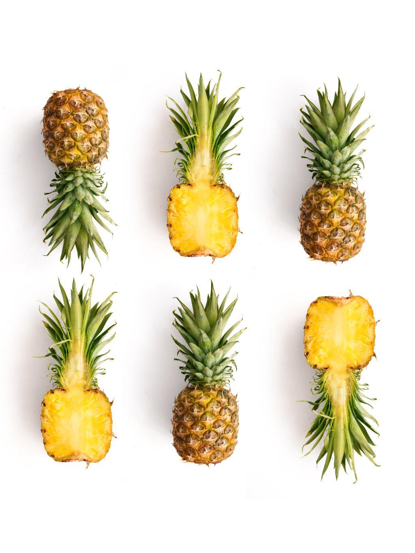 barevny africky plakat ananas 01