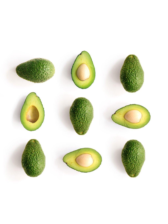 barevny africky plakat avocado 01