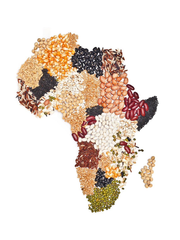 barevny africky plakat beans africa 01