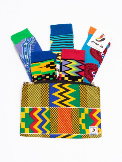 sada 5 barevnych ponozek the new collection 01