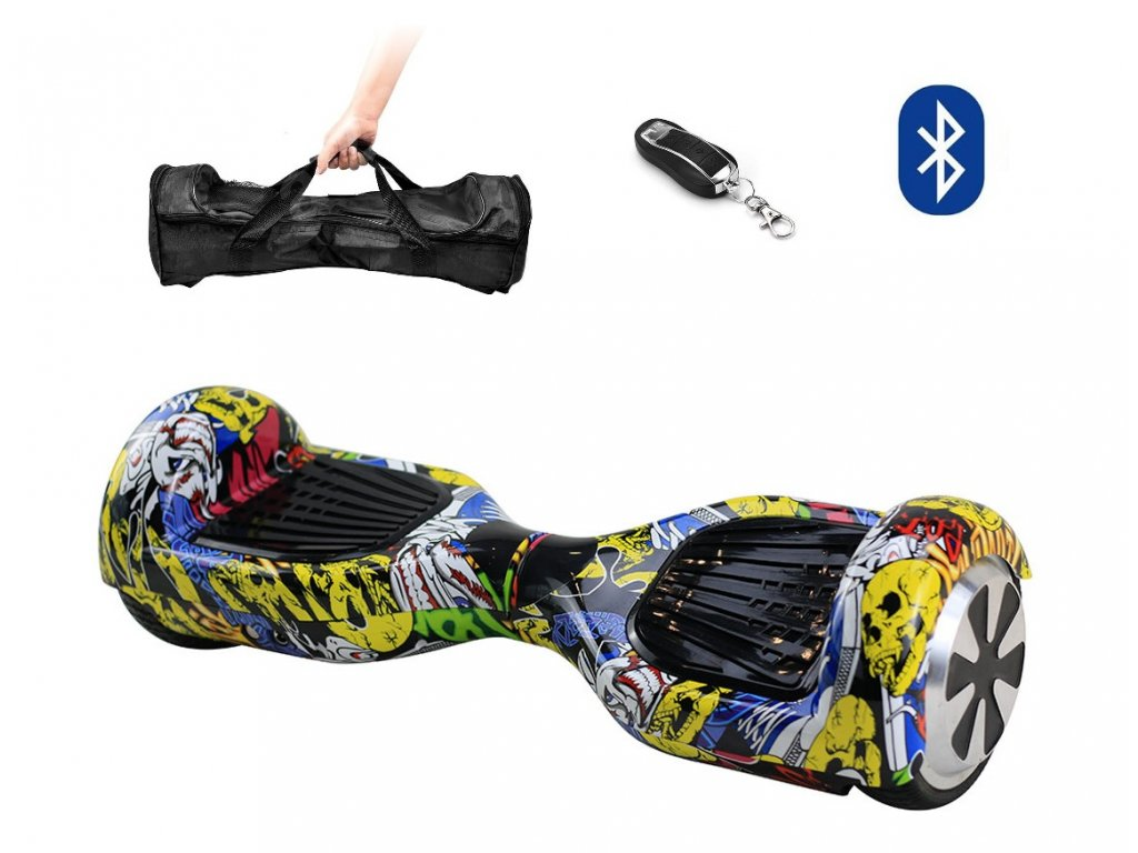 Aboard hoverboard 6,5 Graffiti Bluetooth 01