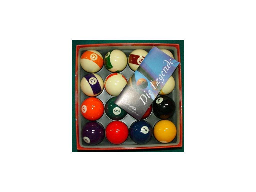 Kulečníkové koule ARAMITH POOL Casino sada 50,8 mm