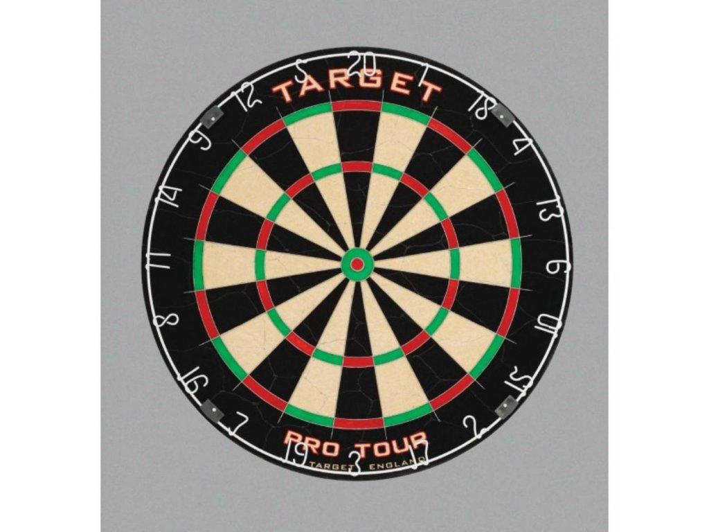 Sisalový terč TARGET Pro Tour, turnajová kvalita