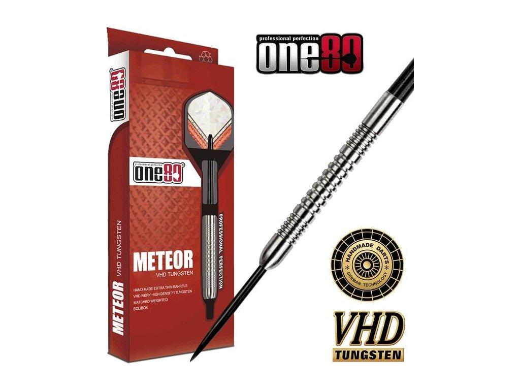 Šipky ONE80 steel METEOR 20g, 90% wolfram
