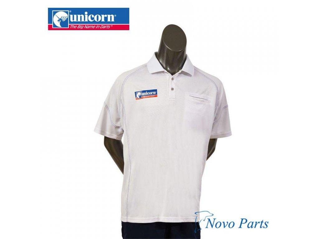 Košile Unicorn Team bílá, velikost XL
