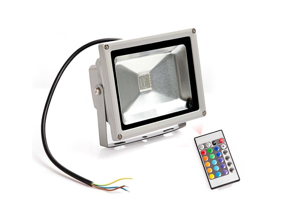 Ledia RGB Led reflektor 50W + dálkové